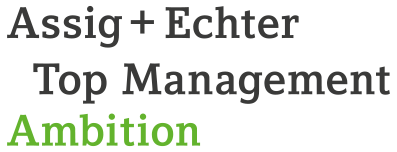 Assig+Echter - Top Management Blog